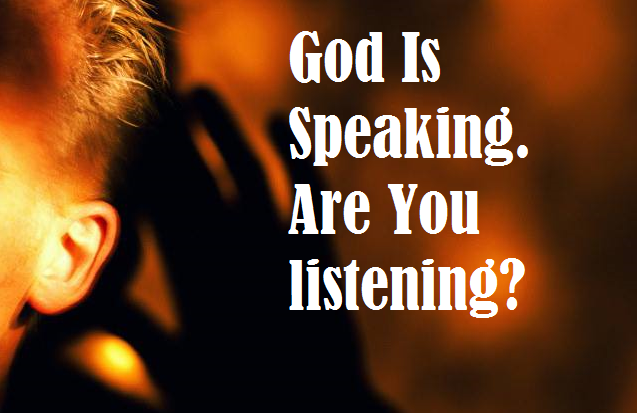GOD-is-speaking